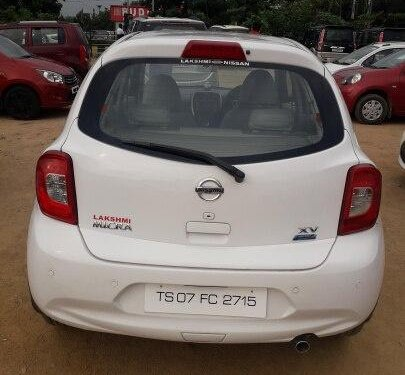 Used 2016 Nissan Micra XV CVT AT for sale in Hyderabad