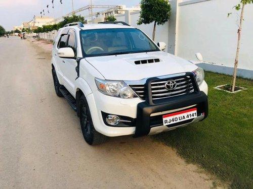 Toyota Fortuner 3.0 Diesel 2015 MT for sale in Jaipur