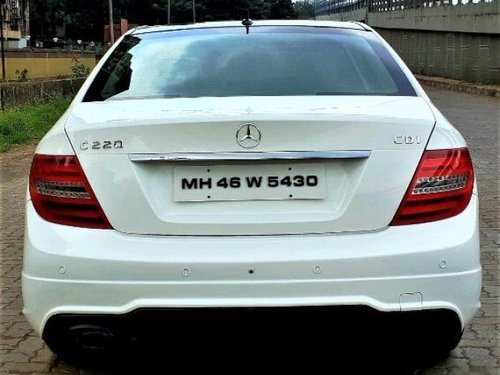 Mercedes-Benz C-Class 220 CDI 2013 AT for sale in Mumbai