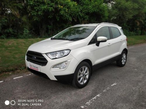 Used 2019 Ford EcoSport 1.5 Petrol Titanium MT for sale in Hyderabad