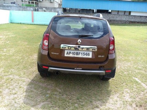 Renault Duster 110PS Diesel RxZ 2013 MT for sale in Hyderabad