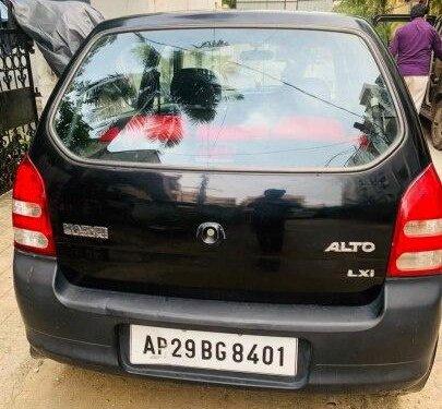 Used 2009 Maruti Suzuki Alto MT for sale in Hyderabad