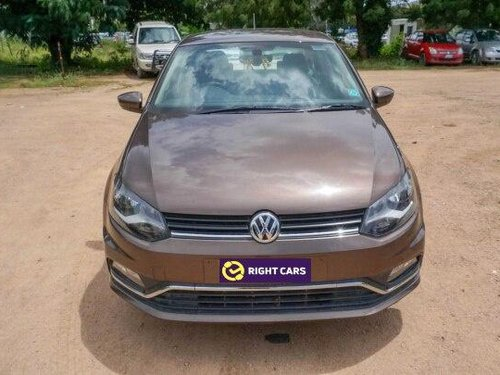 2017 Volkswagen Ameo 1.2 MPI Highline MT in Hyderabad
