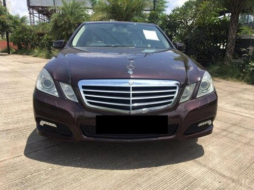 Used 2010 Mercedes Benz E Class AT for sale in Pune