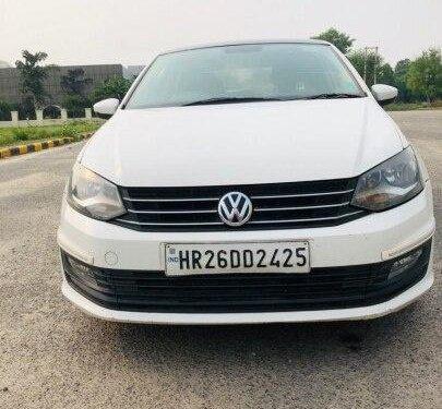 Used 2016 Volkswagen Vento 1.5 TDI Comfortline AT in Faridabad