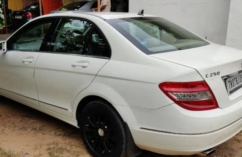 Mercedes-Benz C-Class 250 CDI Classic 2010 AT for sale in Chennai