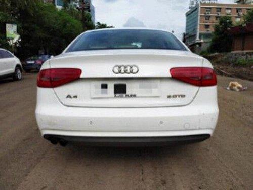2013 Audi A4 New  2.0 TDI Multitronic AT in Pune