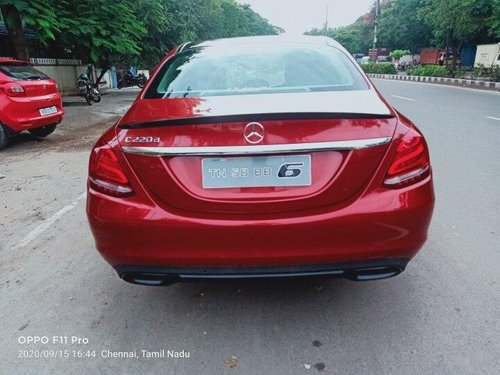 2018 Mercedes Benz C-Class C 220 CDI Avantgarde AT in Chennai