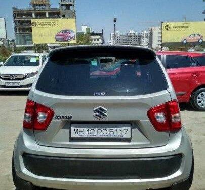 2017 Maruti Suzuki Ignis 1.2 AMT Delta for sale in Pune