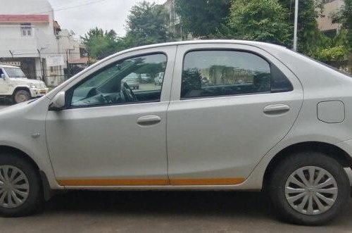 Toyota Platinum Etios 1.4 GD 2018 MT for sale in Ahmedabad