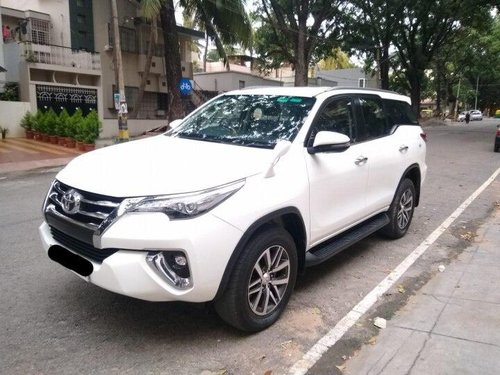 2019 Toyota Fortuner 2.8 4WD AT for sale in Bangalore
