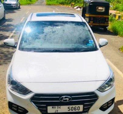 Hyundai Verna 1.6 CRDI SX Option 2018 MT for sale in Mumbai
