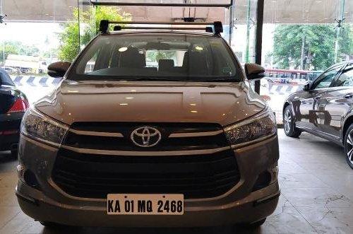 2017 Toyota Innova Crysta 2.4 G BSIV MT in Bangalore