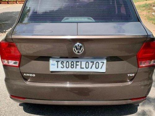 2017 Volkswagen Ameo 1.5 TDI Highline MT for sale in Hyderabad
