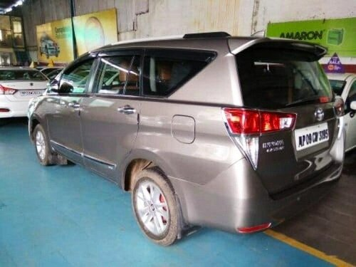 2017 Toyota Innova Crysta 2.8 ZX AT BSIV in Indore