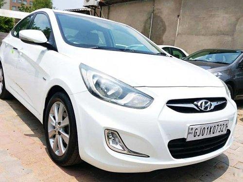 2012 Hyundai Verna SX Diesel MT for sale in Ahmedabad