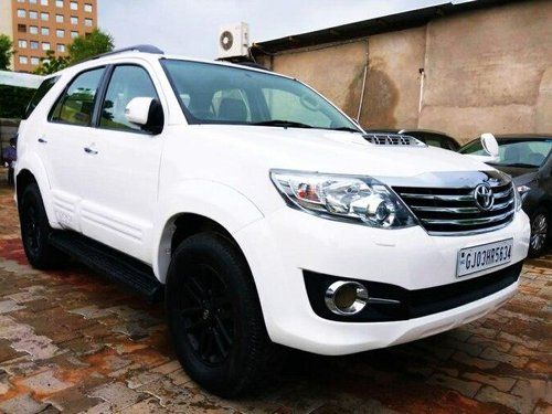 2015 Toyota Fortuner 4x2 Manual MT for sale in Ahmedabad