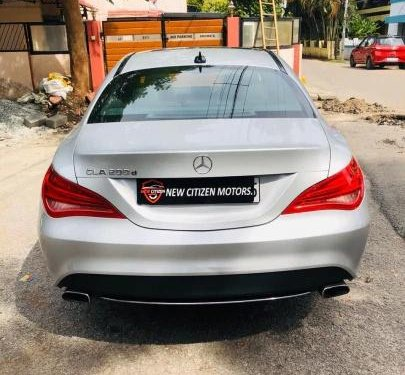 Used 2016 Mercedes Benz CLA AT for sale in Bangalore