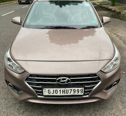 Used Hyundai Verna SX Diesel 2018 MT for sale in Ahmedabad