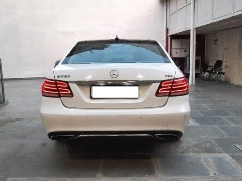 Used Mercedes Benz E Class 2016 AT for sale in New Delhi