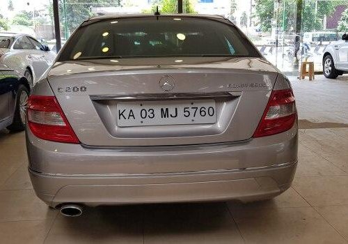 Used 2008 Mercedes Benz C-Class MT for sale in Bangalore
