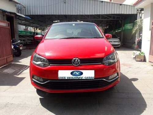 Used 2015 Volkswagen Polo 1.5 TDI Highline MT in Coimbatore