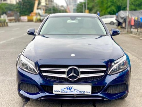 2016 Mercedes Benz C-Class CDI AT for sale in Mumbai