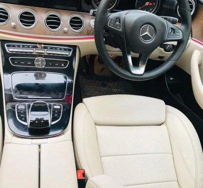 2017 Mercedes-Benz E-Class Expression E 220d AT in Hyderabad
