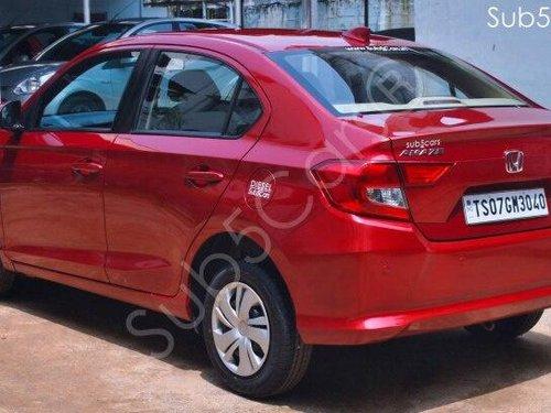Honda Amaze S i-DTEC 2018 MT for sale in Hyderabad