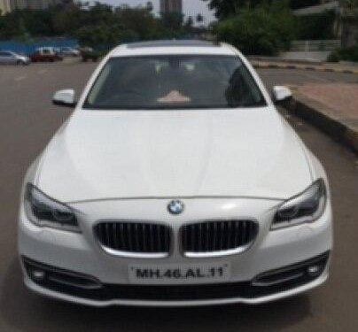 Used 2015 BMW 5 Series 2013-2017 AT for sale in Thane