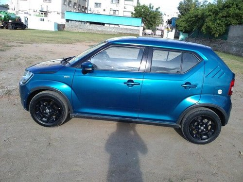 2017 Maruti Ignis 1.3 AMT Zeta AT for sale in Hyderabad