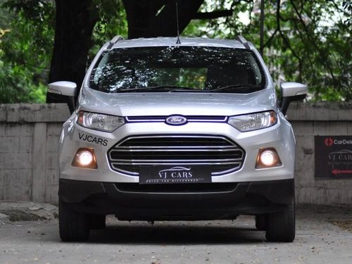 Ford EcoSport 1.5 Diesel Titanium Plus 2016 MT for sale in Chennai