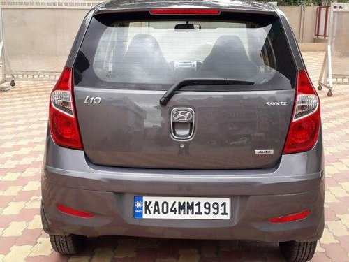 Hyundai i10 Sportz 1.2 2013 AT for sale in Bangalore-7