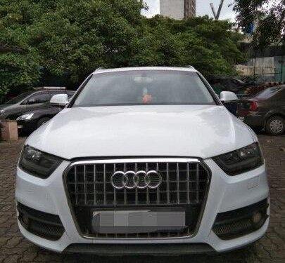 Audi Q3 2.0 TDI Quattro 2014 AT for sale in Mumbai