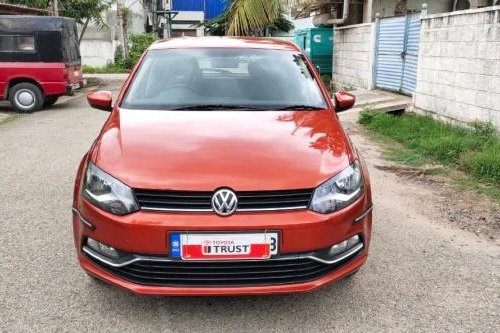 Used 2016 Volkswagen Polo 1.5 TDI Comfortline MT for sale in Bangalore