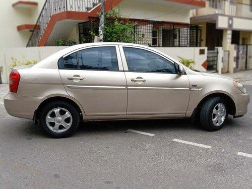 Used 2009 Hyundai Verna MT for sale in Bangalore