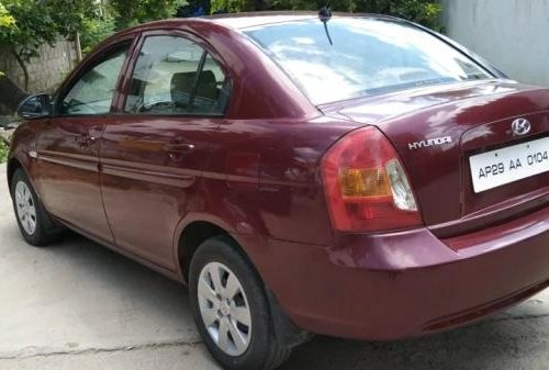 Used 2006 Hyundai Verna MT for sale in Hyderabad