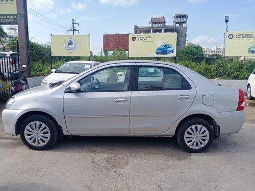 Used Toyota Platinum Etios 1.5 V 2015 MT for sale in Pune