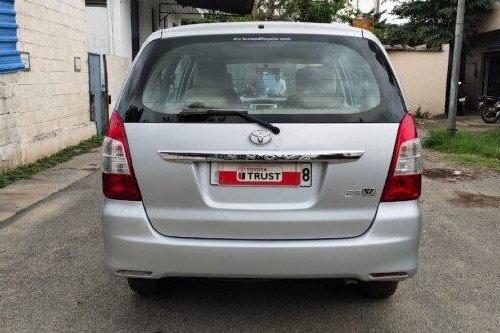 Used Toyota Innova 2.5 VX 7 STR BSIV 2012 MT in Bangalore