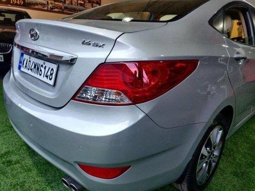 Used Hyundai Verna 2014 AT for sale in Bangalore