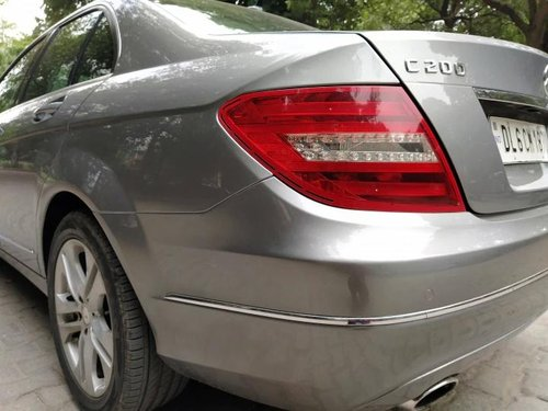 Used Mercedes Benz C-Class C 200 CGI 2012 AT for sale in New Delhi