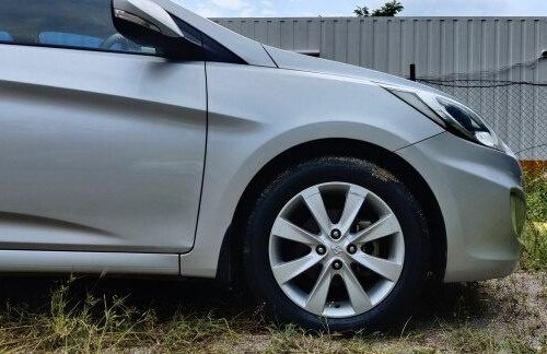 Used 2012 Hyundai Verna MT for sale in Hyderabad