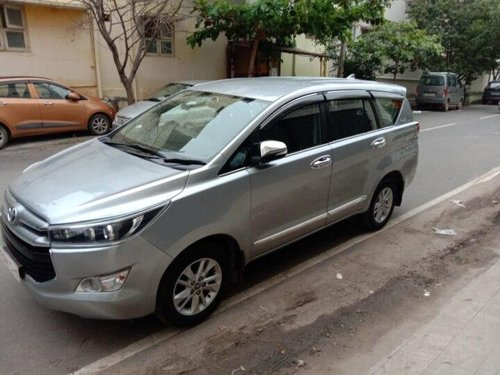 Used Toyota Innova Crysta 2.4 VX MT 2016 MT for sale in Bangalore