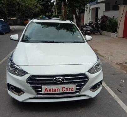 Used Hyundai Verna 1.6 SX VTVT 2018 AT for sale in Bangalore