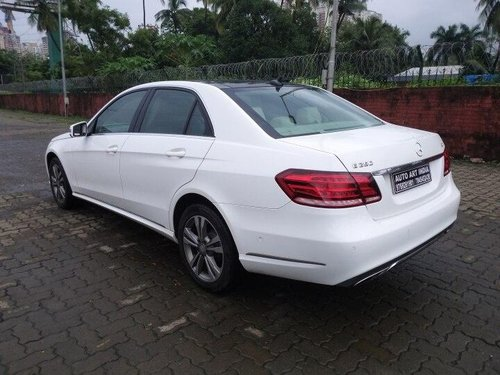 Used Mercedes Benz E Class 2015 AT for sale in Mumbai