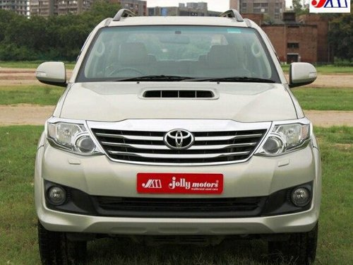 Used Toyota Fortuner 4x4 MT 2012 MT for sale in Ahmedabad