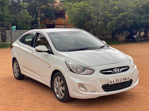 Used Hyundai Verna 2012 MT for sale in Bangalore