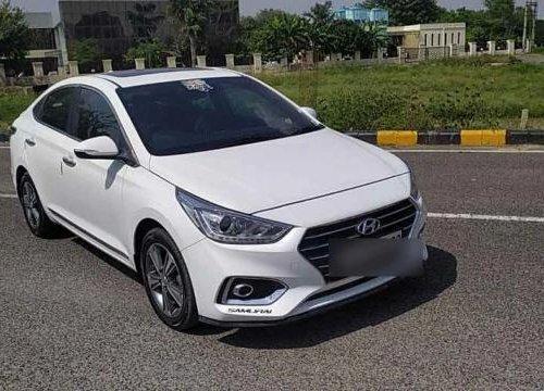 Used Hyundai Verna 2018 MT for sale in Faridabad