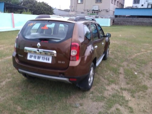 Renault Duster 110PS Diesel RxZ 2013 MT for sale in Hyderabad