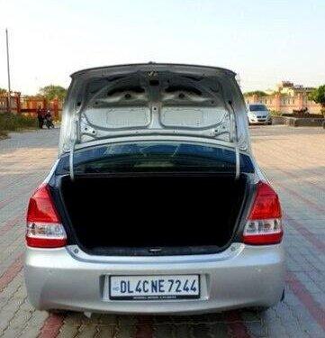 Used Toyota Platinum Etios V 2011 MT for sale in New Delhi